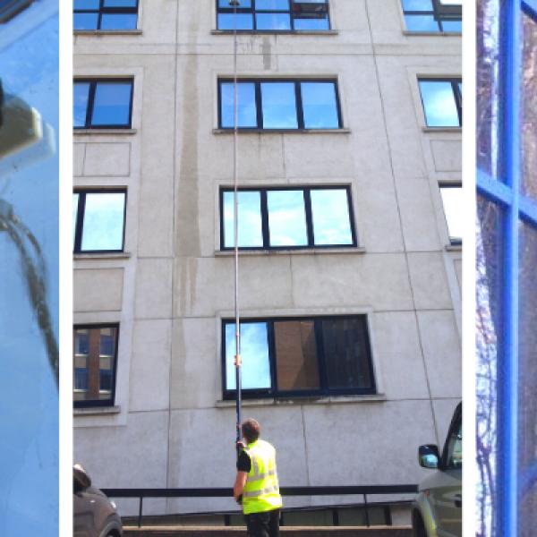 High Rise Window Cleaning Dublin
